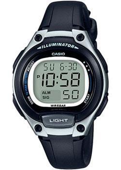 Японские наручные  женские часы Casio LW-203-1A. Коллекция Digital