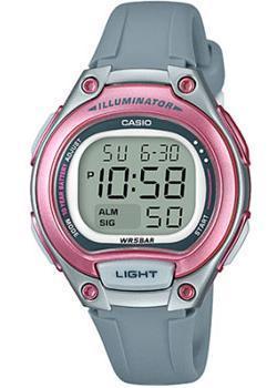 Японские наручные  женские часы Casio LW-203-8A. Коллекция Digital