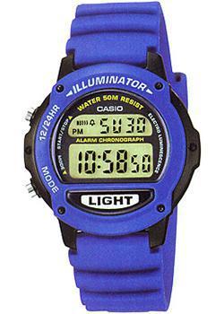 Японские наручные  женские часы Casio LW-22H-2A. Коллекция Digital