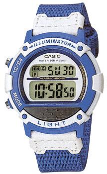 Японские наручные  женские часы Casio LW-23HB-2A. Коллекция Digital