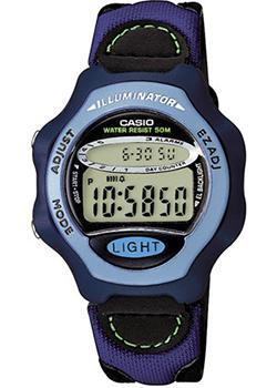 Японские наручные  женские часы Casio LW-24HB-6A. Коллекция Illuminator
