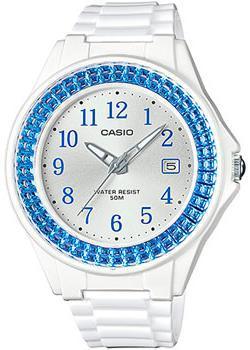 Японские наручные  женские часы Casio LX-500H-2B. Коллекция Analog
