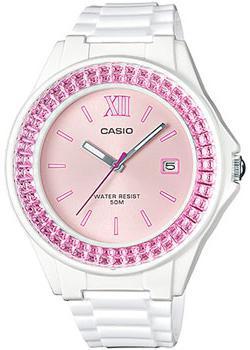 Японские наручные  женские часы Casio LX-500H-4E. Коллекция Analog