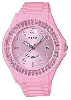 Японские наручные  женские часы Casio LX-500H-4E2VEF. Коллекция Analog