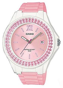 Японские наручные  женские часы Casio LX-500H-4E5VEF. Коллекция Analog
