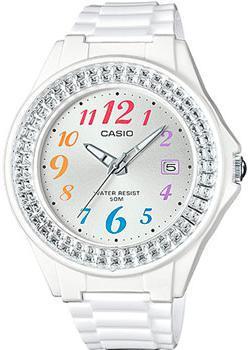 Японские наручные  женские часы Casio LX-500H-7B. Коллекция Analog