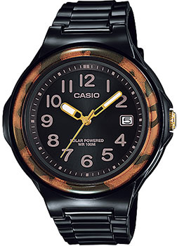 Японские наручные  женские часы Casio LX-S700H-1B. Коллекция Analog