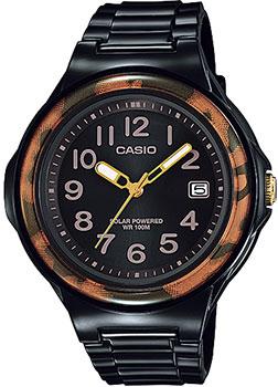 Японские наручные  женские часы Casio LX-S700H-1B. Коллекция Standart Solar Powered