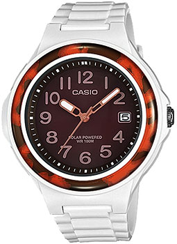 Японские наручные  женские часы Casio LX-S700H-5B. Коллекция Standart Solar Powered