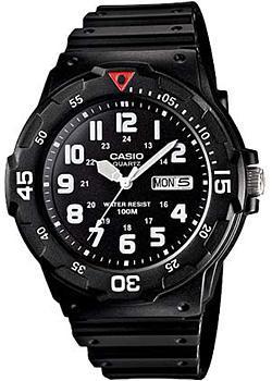 Японские наручные  мужские часы Casio MRW-200H-1B. Коллекция Analog