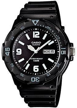 Японские наручные  мужские часы Casio MRW-200H-1B2. Коллекция Diver Look