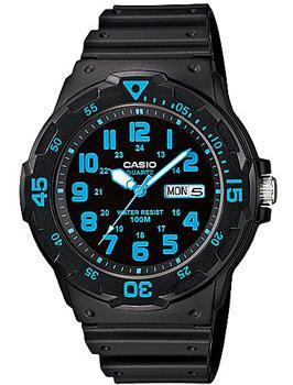 Японские наручные  мужские часы Casio MRW-200H-2B. Коллекция Standard Analog