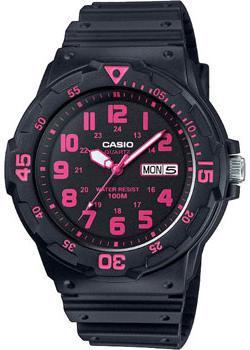 Японские наручные  мужские часы Casio MRW-200H-4C. Коллекция Standard analog