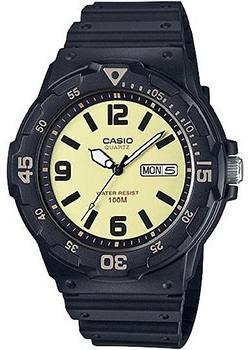 Японские наручные  мужские часы Casio MRW-200H-5B. Коллекция Analog
