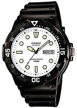 Японские наручные  мужские часы Casio MRW-200H-7E. Коллекция Diver Look