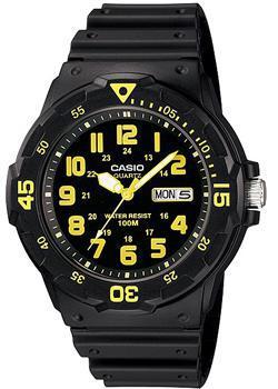 Японские наручные  мужские часы Casio MRW-200H-9B. Коллекция Diver Look