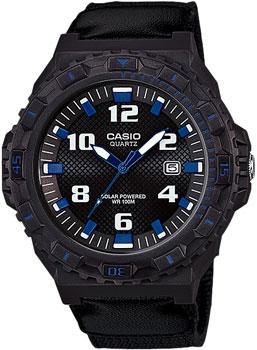 Японские наручные  мужские часы Casio MRW-S300HB-8B. Коллекция Analog