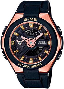 Японские наручные  женские часы Casio MSG-400G-1A1. Коллекция Baby-G