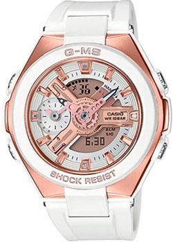 Японские наручные  женские часы Casio MSG-400G-7A. Коллекция Baby-G