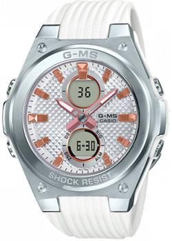 Японские наручные  женские часы Casio MSG-C100-7AER. Коллекция Baby-G