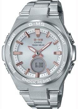 Японские наручные  женские часы Casio MSG-S200D-7AER. Коллекция Baby-G