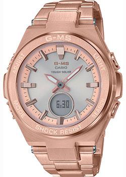 Японские наручные  женские часы Casio MSG-S200DG-4AER. Коллекция Baby-G