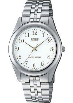 Японские наручные  мужские часы Casio MTP-1129PA-7B. Коллекция Standard Analog