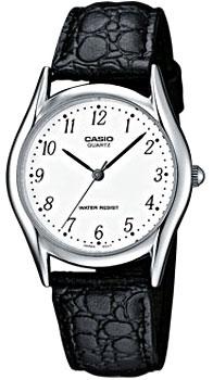 Японские наручные  мужские часы Casio MTP-1154PE-7B. Коллекция Standard Analog