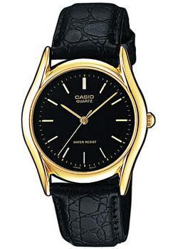 Японские наручные  мужские часы Casio MTP-1154PQ-1A. Коллекция Standard Analog