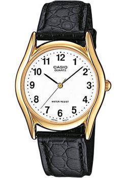 Японские наручные  мужские часы Casio MTP-1154PQ-7B. Коллекция Standard Analog