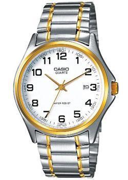 Японские наручные  мужские часы Casio MTP-1188PG-7B. Коллекция Analog
