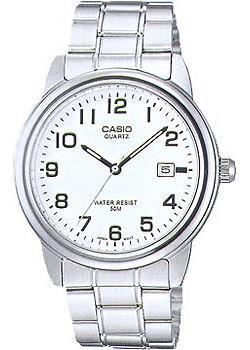 Японские наручные  мужские часы Casio MTP-1222A-7B. Коллекция Analog.