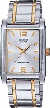 Японские наручные  мужские часы Casio MTP-1235SG-7A. Коллекция Standart