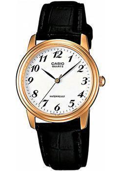 Японские наручные  мужские часы Casio MTP-1236PGL-7B. Коллекция Standart