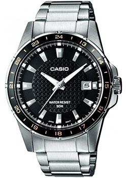 Японские наручные мужские часы Casio MTP-1290D-1A2. Коллекция Analog фото