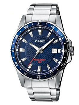 Японские наручные мужские часы Casio MTP-1290D-2A. Коллекция Analog фото