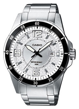 Японские наручные  мужские часы Casio MTP-1291D-7A. Коллекция Analog