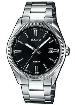 Японские наручные мужские часы Casio MTP-1302PD-1A1. Коллекция Analog фото