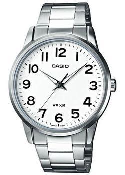 Японские наручные  мужские часы Casio MTP-1303PD-7B. Коллекция Analog.