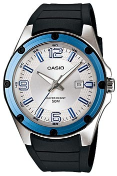 Японские наручные  мужские часы Casio MTP-1346-7A. Коллекция Standard Analog