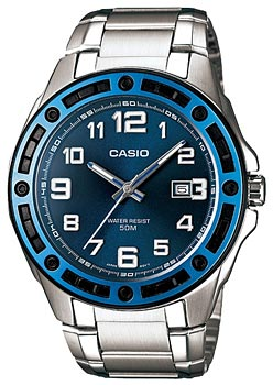 Купить Часы мужские Японские наручные  мужские часы Casio MTP-1347D-2A. Коллекция Standard Analog  Японские наручные  мужские часы Casio MTP-1347D-2A. Коллекция Standard Analog