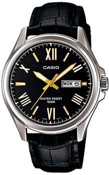 Японские наручные  мужские часы Casio MTP-1377L-1A. Коллекция Standard Analog от Bestwatch.ru