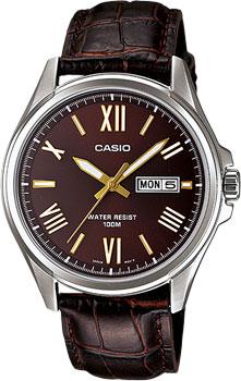 Японские наручные  мужские часы Casio MTP-1377L-5A. Коллекция Analog от Bestwatch.ru