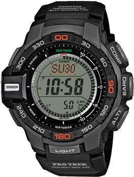 Японские наручные  мужские часы Casio PRG-270-1E. Коллекция Pro-Trek