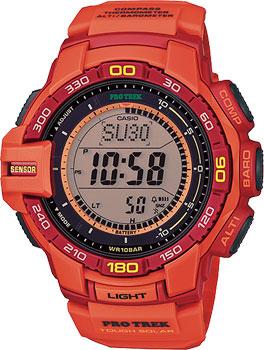 Японские наручные мужские часы Casio PRG-270-4A. Коллекция Pro-Trek