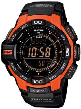 Японские наручные мужские часы Casio PRG-270-4E. Коллекция Pro-Trek&Outgear
