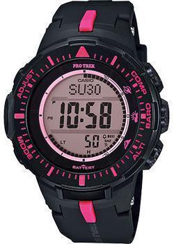 Японские наручные  мужские часы Casio PRG-300-1A4. Коллекция Pro-Trek