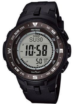 Японские наручные  мужские часы Casio PRG-330-1E. Коллекция Pro-Trek