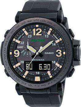 Японские наручные  мужские часы Casio PRG-600Y-1E. Коллекция Pro-Trek