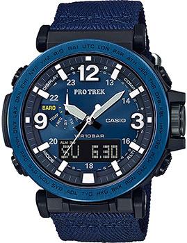 Японские наручные  мужские часы Casio PRG-600YB-2ER. Коллекция Pro-Trek